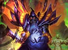 View an image titled 'Gul'dan Art' in our Hearthstone: Heroes of Warcraft art gallery featuring official character designs, concept art, and promo pictures. Wow Warlock, Warlock Class, Dota Warcraft, Warcraft Art, Hearthstone Heroes Of Warcraft, Blizzard Warcraft, Dragons, Hearth Stone, Game