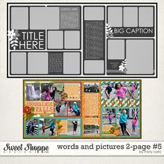 Sweet Shoppe Designs :: NEW Releases :: New Releases - 4/26 :: Words and Pictures 2-Page #5 by Misty Cato