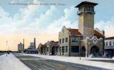 Image detail for -txrrhistory.com - Union Depot - Wichita Falls, Texas