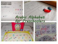 Teaching the Arabic Alphabet to Preschool Children Learning Arabic, Preschool Activities, Teaching Kids, Kids Learning, Alphabet Letter Crafts, Arabic Alphabet, English Alphabet, Learn Arabic Online, Arabic Lessons
