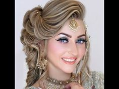 Wedding Hair Styles 2016-17 | Latest Hair styles | Awesome Hair styles - YouTube