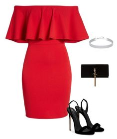 Untitled #20 by jacqueline-jj on Polyvore featuring polyvore, fashion, style, Soprano, Giuseppe Zanotti, Yves Saint Laurent, Swarovski and clothing