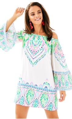 Lilly Pulitzer (this particular one would look better a little longer imo)