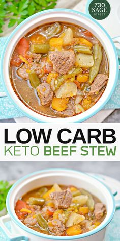 This low carb beef stew recipe requires almost no supervision and will be ready in about half an hou. - This low carb beef stew recipe requires almost no supervision and will be ready in about half an hou. Olivia About Health Beef Recipes, Low Carb Recipes, Cooking Recipes, Healthy Recipes, Chicken Recipes, Easy Recipes, Sausage Recipes, Healthy Food, Recipies