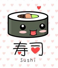You know, there are all kinds of sushi out there! Like people, each kind of sushi has a particular flair to it! Which one are you? Let's find out! Who's hungry?
