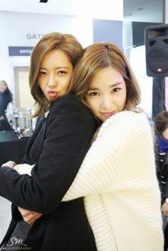 Tiffany and Go Ara