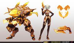 ArtStation - Lightforged D. Overwatch Reaper, Overwatch Fan Art, Armor Concept, Weapon Concept Art, Overwatch Skin Concepts, Ninja, Overwatch Wallpapers, My Hero Academia, Art Prompts