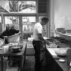 Italian chefs working at cucina casalinga amsterdam