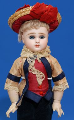 Gorgeous antique french Steiner bebe
