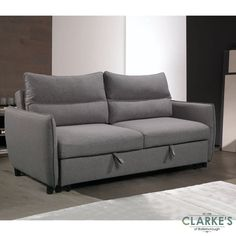 Choose the Easy 3 Seater Sofa Bed and experience the perfect blend of high comfort and clever design. The Easy 3 Seater sofa transforms from a luxurious sofa into a supremely comfortable king size bed. A smooth mechanism allows the bed element to be pulled out with ease using easy to conceal fabric tabs. Modern and streamlined, comfortably seating 3 people, the Easy sofa bed is perfect for contemporary living. Pull Out Bed, 3 Seater Sofa Bed, Luxury Sofa, Clever Design, Fashion Room, Contemporary, Modern, King Size, Love Seat