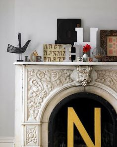 Another idea for an unused fireplace
