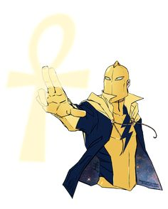 Dr Fate - Kid Fate?! by croaky on deviantART
