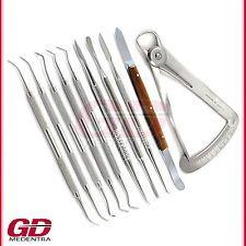 Zahnllabor Zahnmedizin Wachsmesser Chirurgisches Techniker Modellierinstrumente