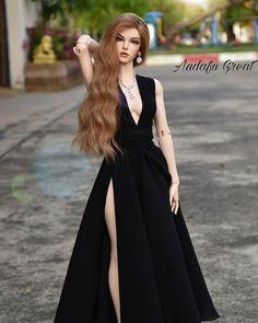 Doll Clothes Barbie, Barbie Dress, Barbie Barbie, Barbie Stil, Dress Outfits, Fashion Dresses, Barbie Fashionista Dolls, Barbie Model, Beautiful Barbie Dolls