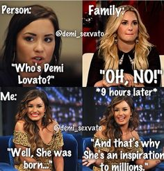 Who's Demi Lovato? Demi Lovato Albums, Demi Lovato Quotes, I Love Her Quotes, Demi Love, Just Deal With It, Camp Rock, Celebration Quotes, Bad Mood, She Song