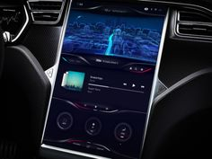 Tesla Dashboard Concept exploration