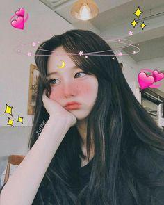 Mode Ulzzang, Ulzzang Korean Girl, Cute Korean Girl, Asian Girl, Kawaii Makeup, Cute Makeup, Makeup Looks, Aesthetic Makeup, Aesthetic Girl
