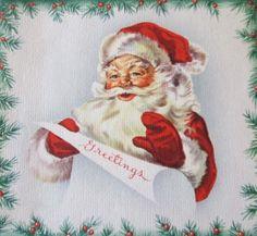 Santa greetings!