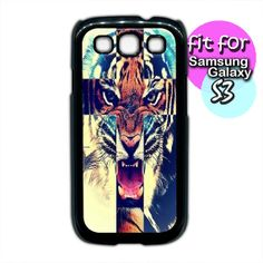 tiger cross tiger roar for samsung galaxy s4 samsung by etbay, $12.99 Tiger Roaring, Samsung Galaxy S3, Unique Jewelry, Handmade Gifts, Etsy, Kid Craft Gifts, Craft Gifts, Costume Jewelry, Diy Gifts