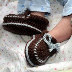 0956b1d71f2 Baby Moccasin Booties pattern by Sylver Santika
