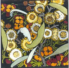 Blackwood and Boronia by Kit Hiller - printmaker - Tasmanian artist