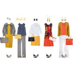 Mod Work Capsule Wardrobe: 6