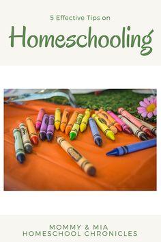5 Homeschooling Tips