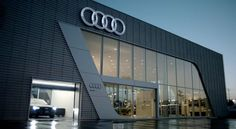 Audi Pacific: A totally different agency. Facade Design, Exterior Design, Audi Rs6, Factory Architecture, Industrial Office Design, Showroom Design, Corporate Interiors, Shop Front Design, Commercial Design