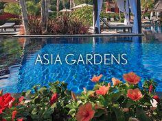 La temperatura media anual en el microclima de Asia Gardens Hotel & Thai Spa es de 22º.