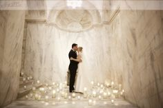 a romantic first look at the Ritz-Carlton Philadelphia – I have always envisioned doing this & I was so happy to create such a special first look for this special couple! Romantic Candlelit portrait Photo: Sarah DiCicco