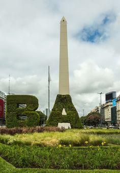 #BAVerde Obelisco, Buenos Aires, Argentina Fotografía año 2016