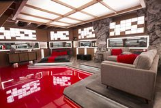 The Big Brother Canada house got a chic makeover for season What better than an espionage inspired theme as cameras spy on houseguests Take a tour of the new house! Big Brother Canada, Canada House, Room Tour, Season 8, House 2, Mattress, Entrance, February, New Homes