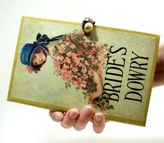 Darling! Book Clutch Purse made from Vintage Book by RokkiHandbags, $65.00