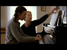 The Piano Teacher - Schubert isn't a walk in the park. Skip to 1:48 for the playing.  One of my favorites too!