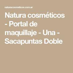 Natura cosméticos - Portal de maquillaje - Una - Sacapuntas Doble