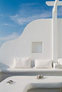 Santorini, Greece  There is just something I love about the simplicity of this picture.