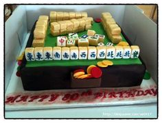 Sweet APRIL -The Story of April: Mah Jong Cake