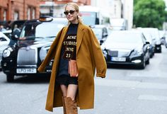 Spring '14 London Fashion Week #StreetStyle (Photo: Tommy Ton)