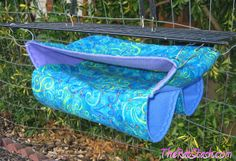 For Natasha: Rat Stash in Blue Swirls | Flickr - Photo Sharing!