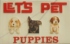 """Let's Pet Puppies"" is no more.  Ashland and Roscoe, Chicago, IL."