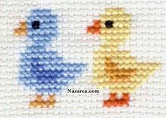 Free Cross-Stitch Patterns - Animals --Great website for inspiration and instruction for lots of crafts! Free Cross-Stitch Patterns - Animals --Great website for inspiration and instruction for lots of crafts! Tiny Cross Stitch, Cross Stitch Cards, Cross Stitch Borders, Cross Stitch Animals, Cross Stitch Designs, Cross Stitching, Cross Stitch Embroidery, Embroidery Patterns, Cross Stitch Patterns Free Easy
