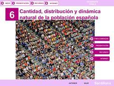 Tema 06: LAPOBLACIÓN ESPAÑOLA I by tonicontreras via slideshare