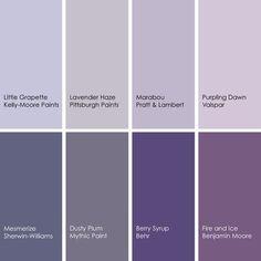 Purple Haze Kelly Moore Fragrant Lilac Valspar Lavender Lining Mythic Paint Violet Petal Benj