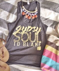 Gypsy Soul to Blame Life Out of the Box tank. Each one gives 7 meals to those in need. #lootb