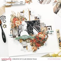 Kylie K, Scrapbook Layouts, Scrapbooking, Creative Cards, Project Life, Safari, Steampunk, Collections, Halloween
