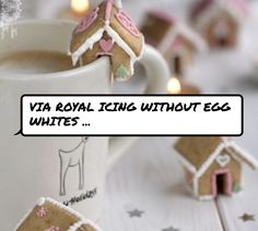 Via #Royal Icing without Egg Whites ...