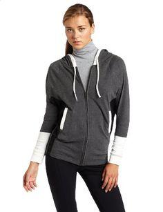 Amazon.com: Hknb Heidi Klum For New Balance Women's Zip-Up Dolman Hoodie: Clothing