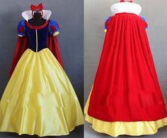 Snow White Princess Dress Cosplay Costume for women party Custom made #yuehongjiafa #Dress