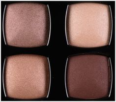 Chanel Raffinement Eyeshadow Quad Review, Photos, Swatches