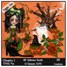 SBP Creations: Halloween Bundle 01